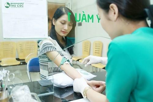 Thực hiện xét nghiệm tại cơ sở y tế để cho kết quả chính xác.