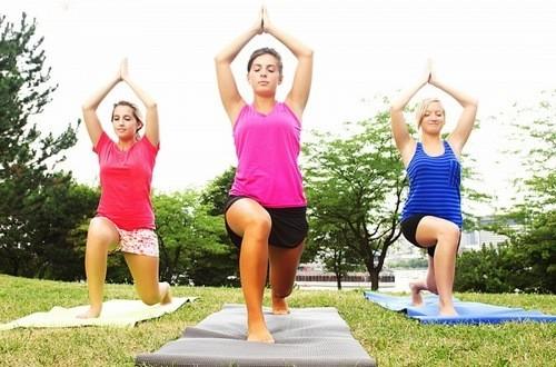 Tập luyện thể thao tăng cường sức khỏe tốt cho cơ thể