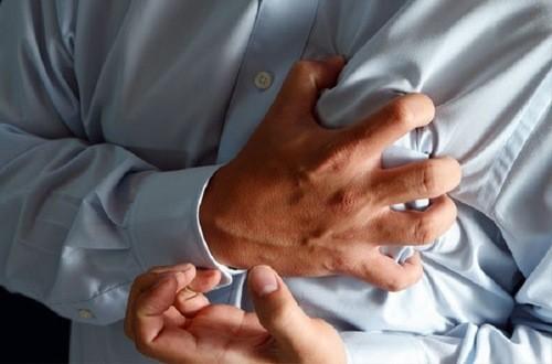 Đau thắt ngực là dấu hiệu cảnh báo bệnh tim mạch