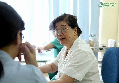 Thăm khám để được chẩn đoán và tư vấn cụ thể