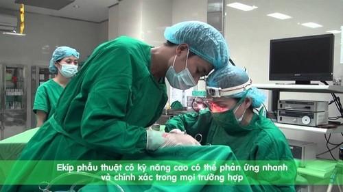 Bệnh viện Thu Cúc là địa chỉ phẫu thuật amidan an toàn hiệu quả