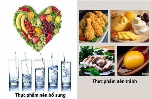 Những thực phẩm người bệnh rối loạn tiền đình nên lưu ý