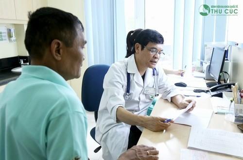 Khi có biểu hiện bệnh sỏi thận người bệnh cần đến bệnh viện để được bác sĩ chuyên khoa thăm khám và điều trị hiệu quả