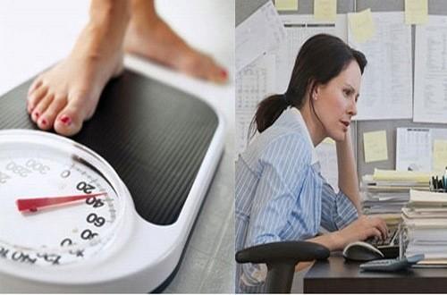 Căng thẳng có thể là nguyên nhân khiến phụ nữ tăng cân đột ngột
