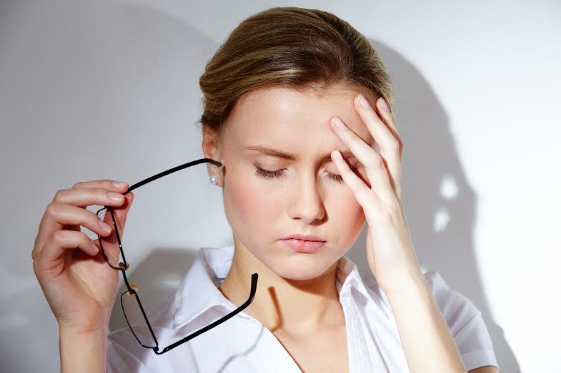 Stress khiến người bệnh khó chịu, mệt mỏi