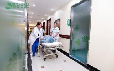 Bệnh viện Thu Cúc có nhận sinh mổ không?