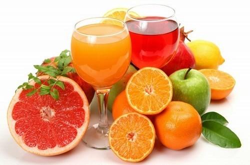 Nước trái cây có thể giúp giải độc cơ thể hiệu quả