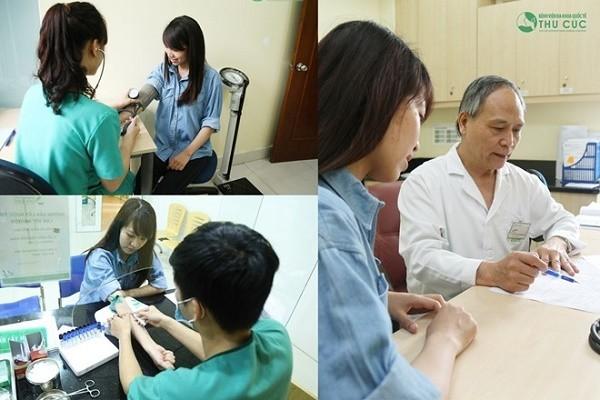 Đội ngũ các y bác sĩ giỏi chuyên môn, giàu kinh nghiệm, luôn tận tình thăm khám và điều trị cho khách hàng.