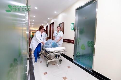 Bệnh viện Đa khoa Quốc tế Thu cúc là một địa chỉ có dịch vụ sinh đẻ được nhiều mẹ bầu tin chọn