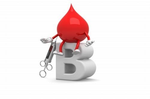 Tỷ lệ người nhóm máu B khá hiếm chỉ sau nhóm máu AB