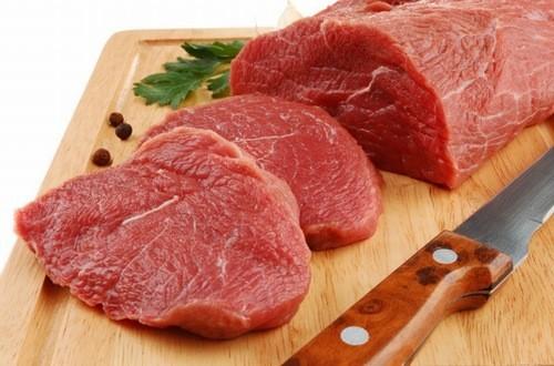 Thịt bò là một trong những thực phẩm cung cấp sắt cho mẹ bầu