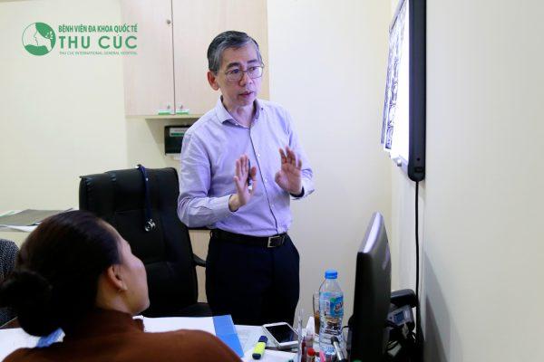 TS. BS Lim Hong Liang có quan tâm đặc biệt đến các bệnh ung thư vùng đầu cổ