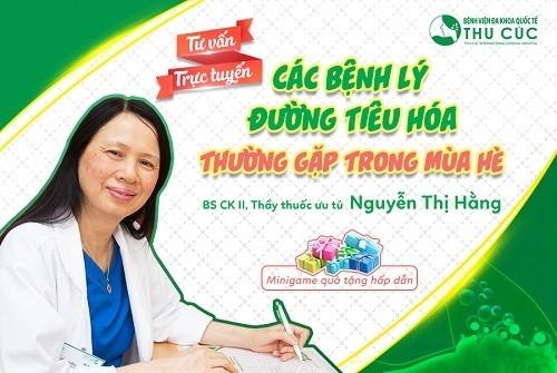 Bác sĩ Chuyên khoa II - Thầy thuốc ưu tú Nguyễn Thị Hằng