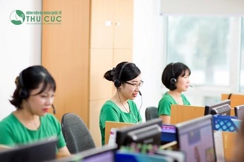 Bệnh viện Đa khoa Quốc tế Thu Cúc luôn sẵn sàng hỗ trợ để bạn được khám sức khỏe định kỳ hiệu quả, nhanh chóng.