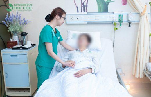 Chế đọ chăm sóc giảm nhẹ đặc biệt cho bệnh nhân ở Bệnh viện Thu Cúc