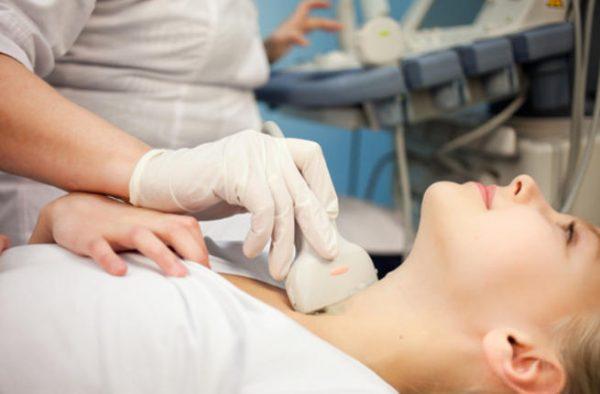 Siêu âm tuyến giáp xác định khối u đặc hay nang