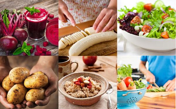 Lựa chọn chế độ ăn uống lành mạnh ngừa chứng ợ nóng khó chịu