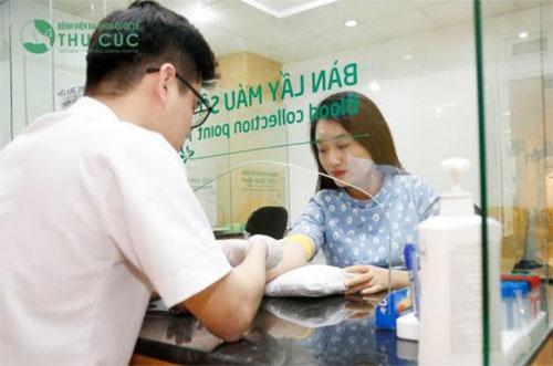 Mẹ bầu được kiểm soát thai kỳ toàn diện khi đăng ký thai sản trọn gói tại bệnh viện Thu Cúc.