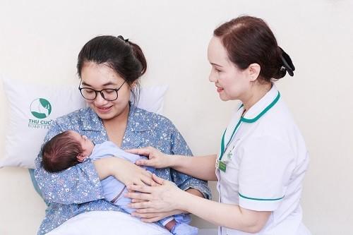 Dịch vụ sinh đẻ tại Bệnh viện Thu Cúc được nhiều mẹ bầu lựa chọn.