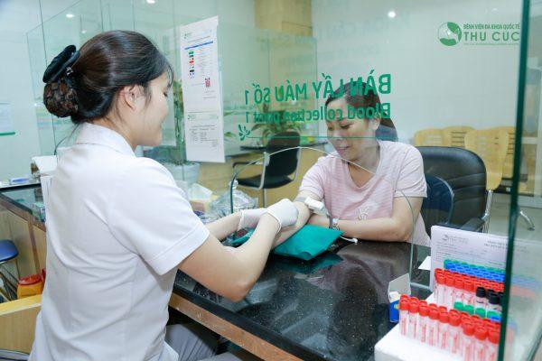 Khám thai tại bệnh viện Đa khoa Quốc tế Thu Cúc