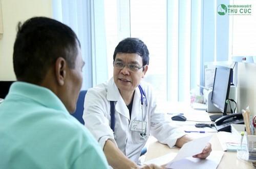 Thăm khám để được bác sĩ chuyên khoa chẩn đoán xác định nguyên nhân và điều trị hiệu quả