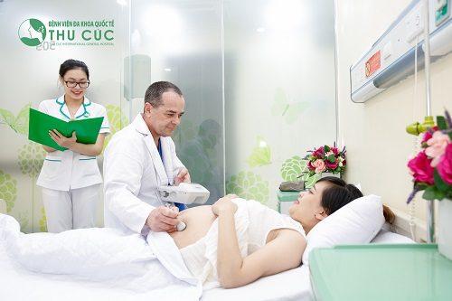 Những mẹ bầu sinh con trong tháng 7/2018 tại Bệnh viện ĐKQT Thu Cúc sẽ được hưởng hỗ trợ đặc biệt.