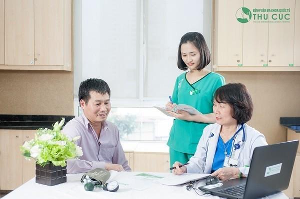 Ngay khi có triệu chứng bất thường, bạn nên đến trực tiếp bệnh viện để khám chẩn đoán và điều trị bệnh kịp thời