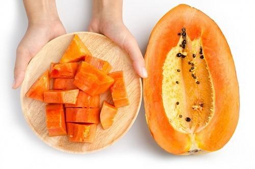 Đu đủ là một trong những loại thực phẩm tốt có tác dụng tốt trong giảm nguy cơ ung thư