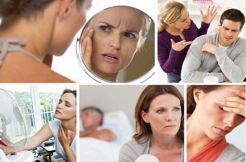 Bốc hỏa, đau đầu, rối loạn kinh nguyệt,.... là những triệu chứng tiền mãn kinh