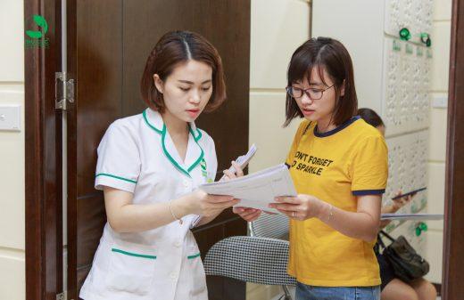 Khám sức khỏe định kỳ cho CBCNV Agribank chi nhánh Cao Bằng