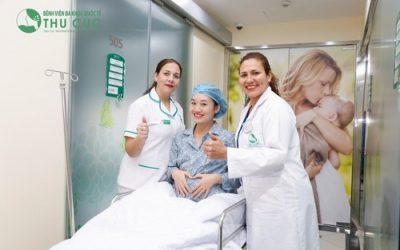Bệnh viện Thu Cúc tặng quà giá trị cho chị em sinh con trong tháng 8