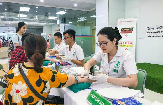 Bệnh viện Thu Cúc khám sức khỏe định kỳ cho CBCNV Trường ĐH FPT