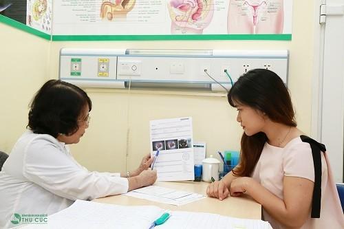Phải đi thăm khám tìm đúng nguyên nhân và được bác sĩ chỉ định điều trị thích hợp mới mang lại hiệu quả.