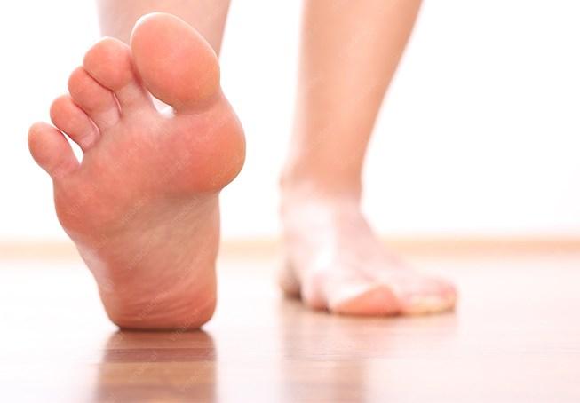 Gót chân là một phần nhỏ của cơ thể nhưng lại là bộ phận chịu một tải trọng lớn của toàn bộ cơ thể