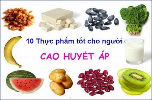 Người bệnh cao huyết áp cần bổ sung các loại thực phẩm tốt