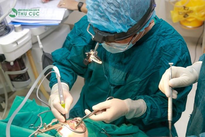 Phẫu thuật nạo VA bằng dao plasma hiện đại tại Bệnh viện Thu Cúc