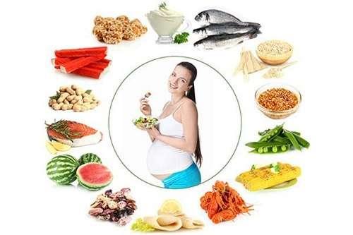 Chế độ ăn uống trong thời gian mang bầu ảnh hưởng rất lớn đến sức khỏe của mẹ