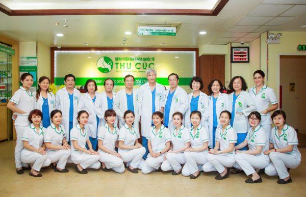 Bệnh viện Thu Cúc quy tụđội ngũcác bác sĩ giỏi trong và ngoài nước.