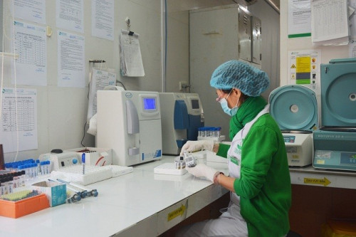 Đơn vị xét nghiệm của bệnh viện đã được công nhận đạt ISO 15189:2012.