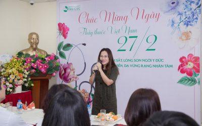 Bệnh viện Thu Cúc trang trọng chào mừng ngày Thầy Thuốc Việt Nam