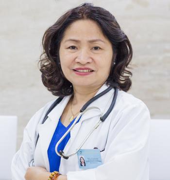 Thạc sĩ y học Nội khoa., Bác sĩ CKI- Nghiêm Hoàng Lan Phương – Giám đốc PKĐKQT Thu Cúc