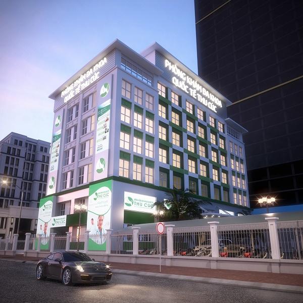 Cơ sở 2 Bệnh viện Đa khoa Quốc tế Thu Cúc 216 Trần Duy Hưng, Cầu Giấy, Hà Nội