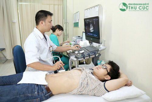 Siêu âm ổ bụng là một trong cách cách chẩn đoán bệnh viêm tụy cấp