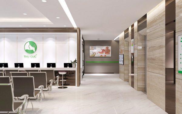 Phòng khám nội soi dạ dày đại tràng Thu Cúc tiên tiến, hiện đại