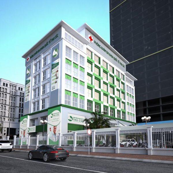 Bệnh viện ĐKQT Thu Cúc cơ sở 2 là địa chỉ uy tín nơi có phòng khám nội tiết gần trường THPT Amsterdam