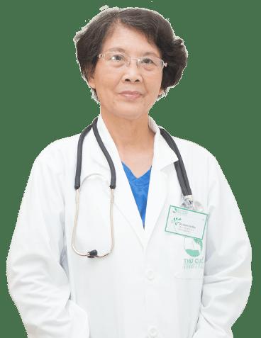 Bác sĩ Nguyễn Thị Bình là bác sĩ tiêu hóa giỏi ở Hà Nội hiện đang làm việc tại bệnh viện Thu Cúc