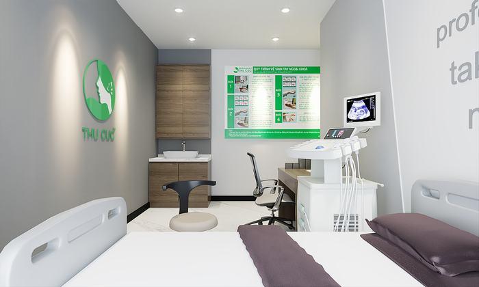 Các thiết bị, máy móc chất lượng cao phục vụ thăm khám và xét nghiệm, chẩn đoán hình ảnh.
