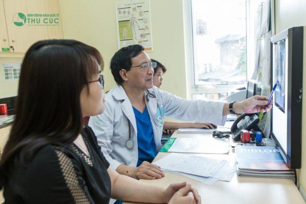 phòng khám Thu Cúc khám và điều trị bệnh Tim mạch rất hiệu quả
