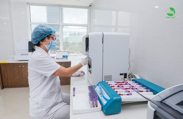 trang thiết bị y tế tại Thu Cúc