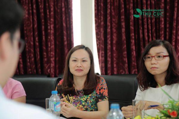 Ths.Bác sĩ Nguyễn Thị Phương Thảo – Trưởng phòng Khám sức khỏe của Bệnh viện Thu Cúc cam kết bệnh viện sẽ đảm bảo mọi yêu cầu từ công ty Samsung.